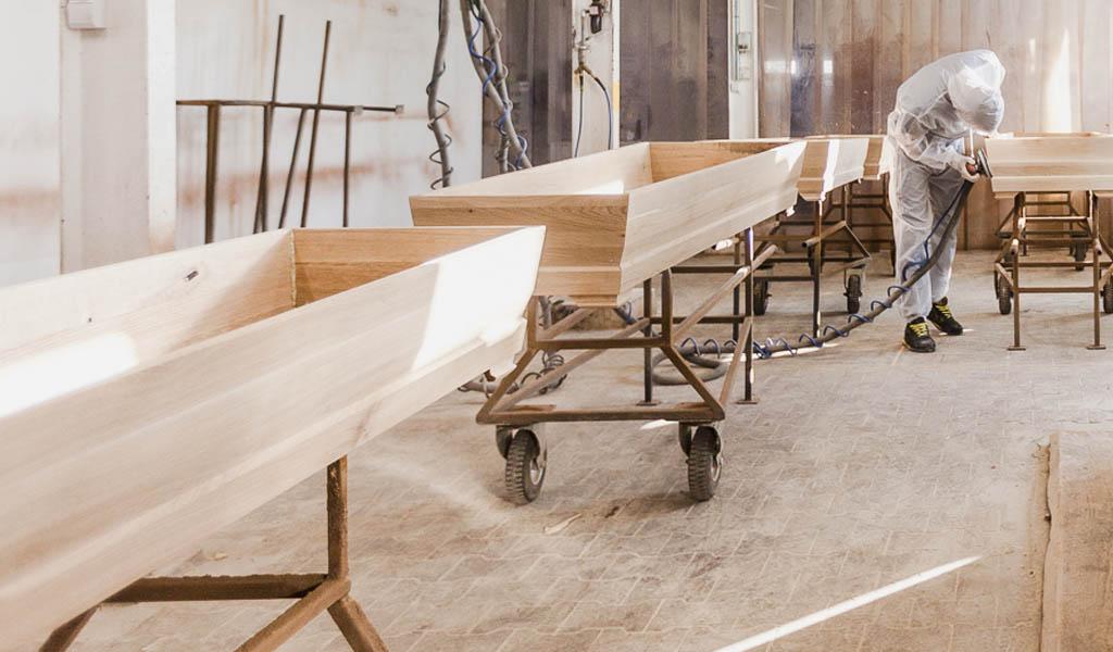 Ataúdes de madera
