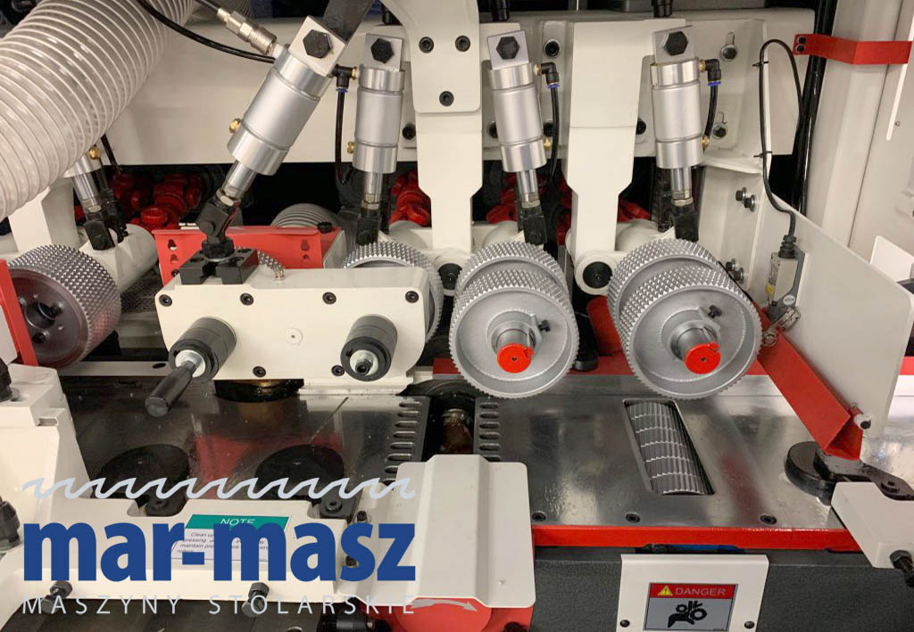 Strugarka czterostronna WINTER TIMBERMAX 6-23 U Deluxe