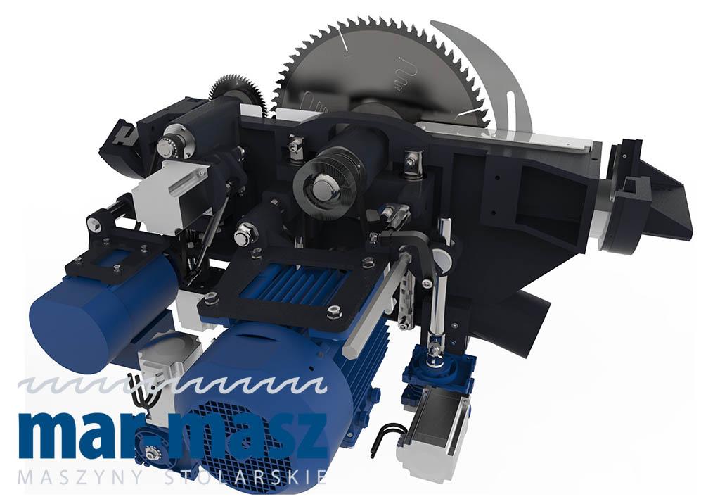 Piła formatowa REMA FX550 – 5 osi