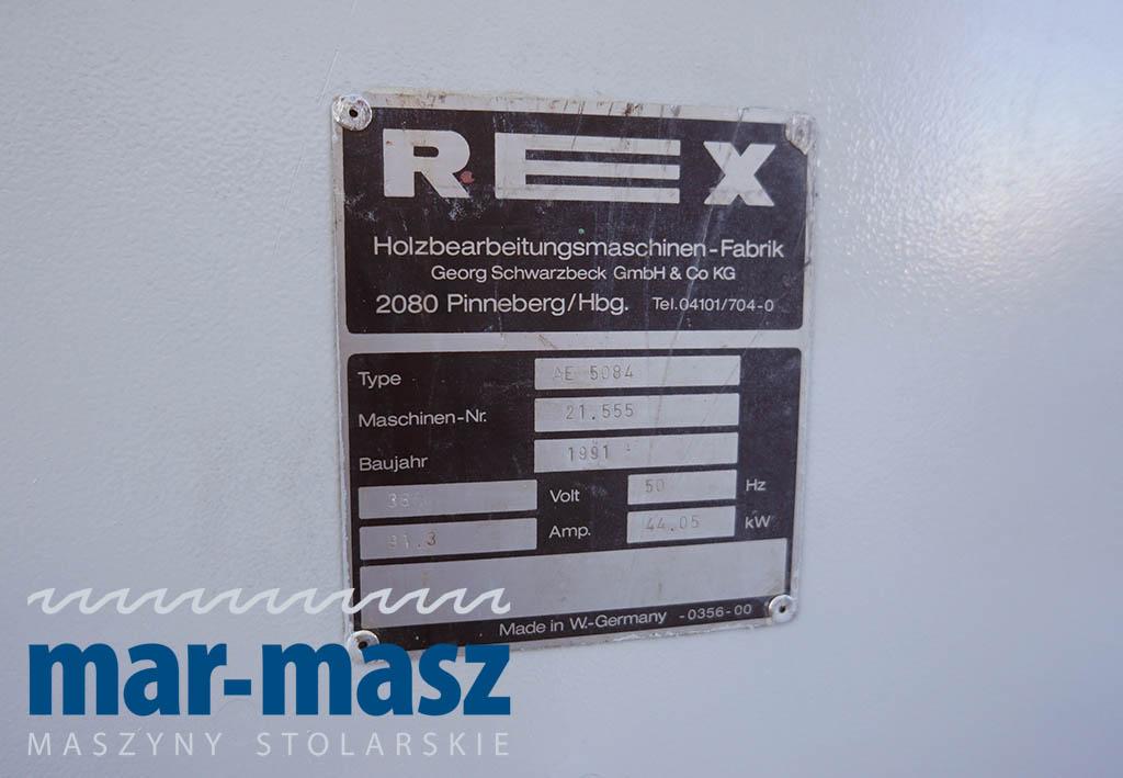 Strugarka czterostronna REX AE 5084
