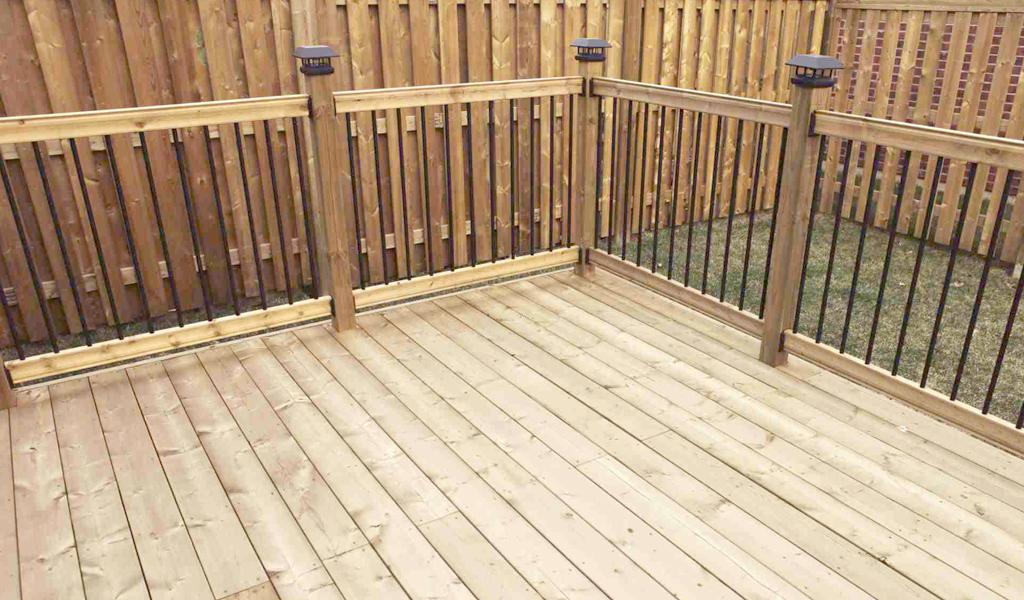 Tablero de terraza ideal para el piso