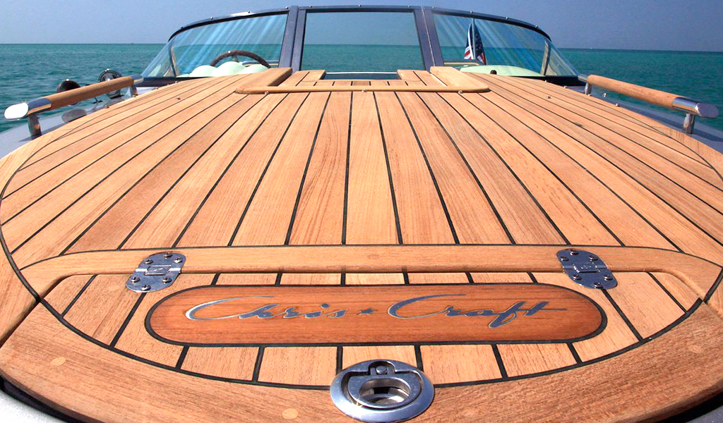 What wood for boats and yachts?