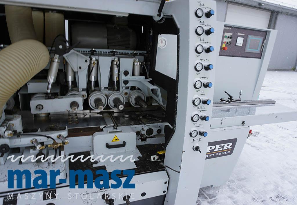 Strugarka czterostronna LEADERMAC WEINIG KUPER SWT 23 XLS-9D
