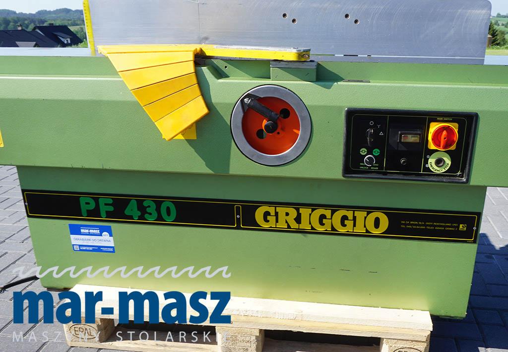 Wyrówniarka GRIGGIO PF 430