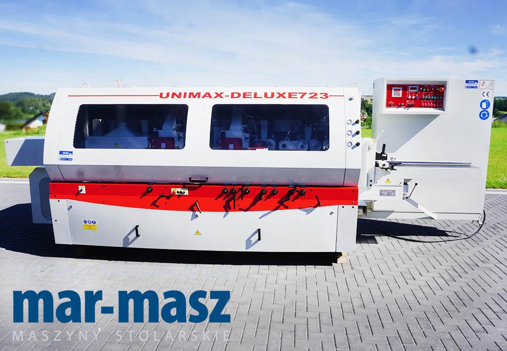 Strugarka czterostronna WINTER UNIMAX DELUXE 723 WEINIG LEADERMAC