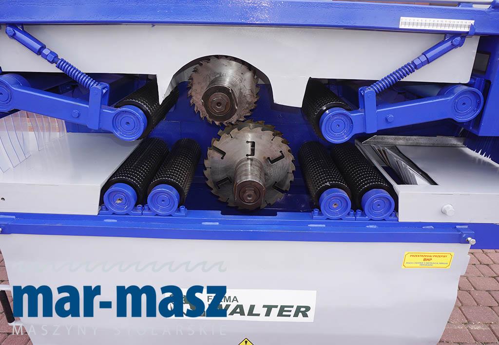 Wielopiła dwuwałowa WALTER WD 250/350 / 300