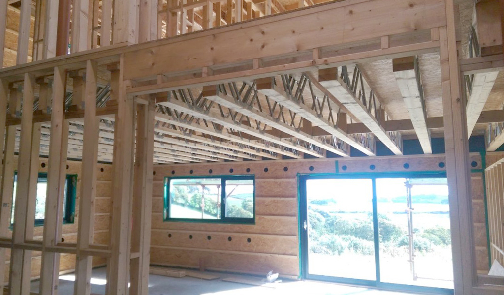 Frame houses and their advantages