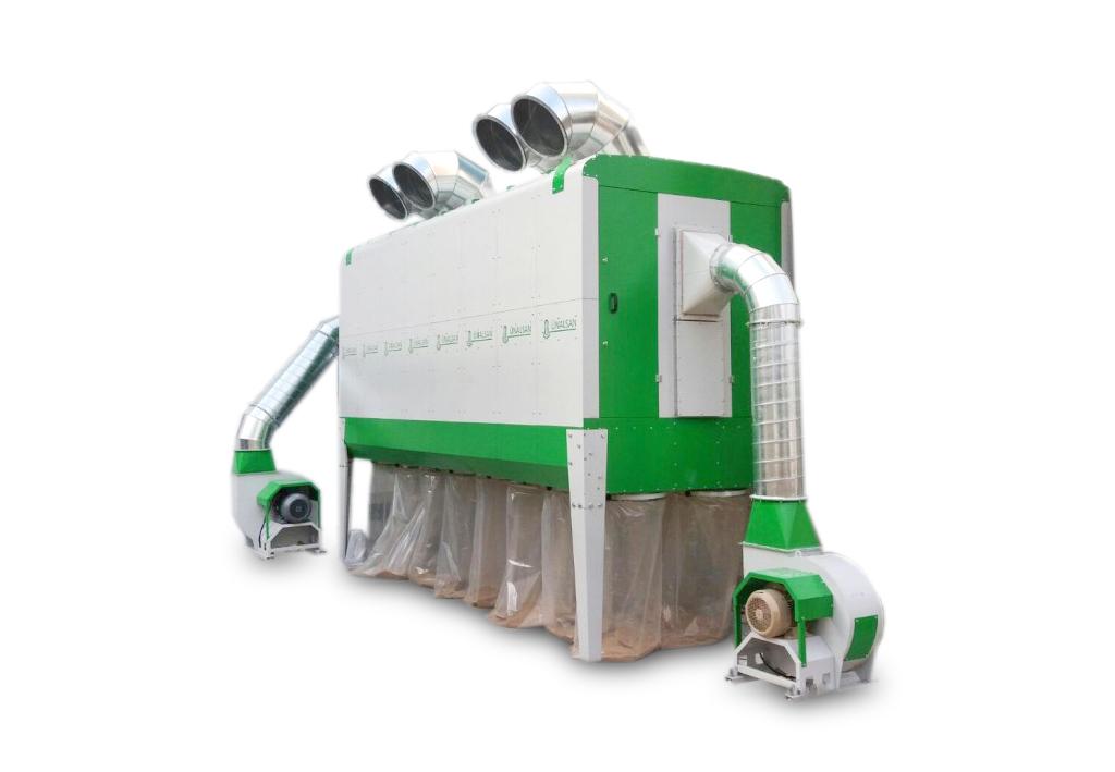 Odciąg do trocin HOLZING RLA 800 VIBER Power 34800 m3/h