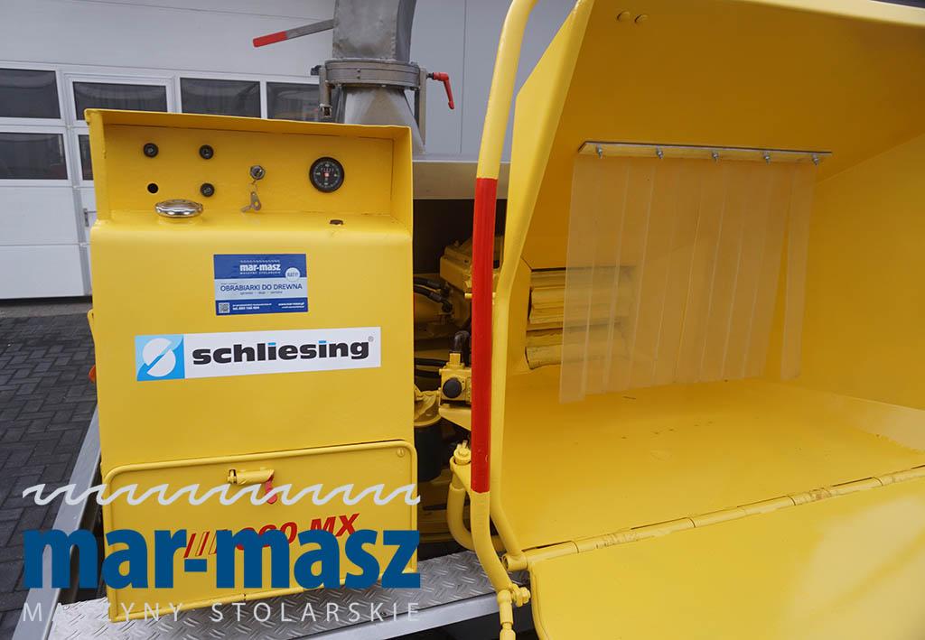 Rębak / Rozdrabniacz spalinowy SCHLIESING 660 MX