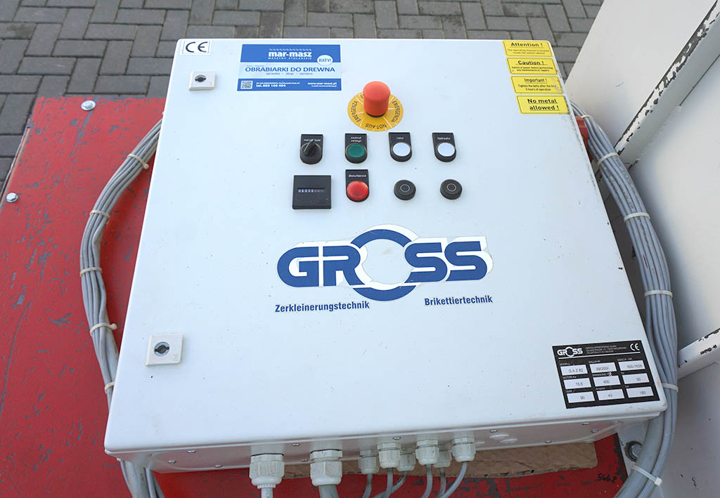 Rębak / Rozdrabniacz GROSS WEIMA GAZ82