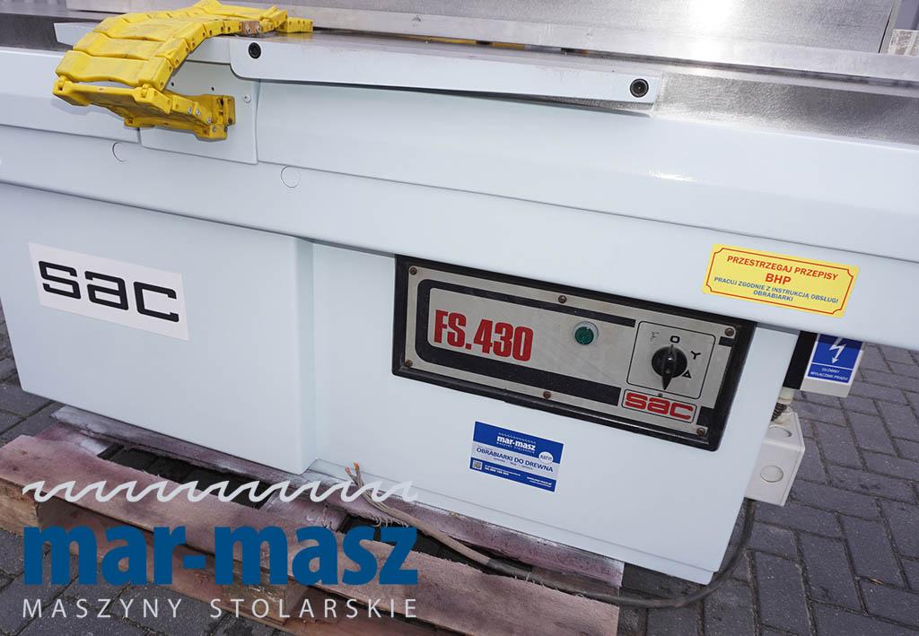 Wyrówniarka SAC FS.430 HP 4