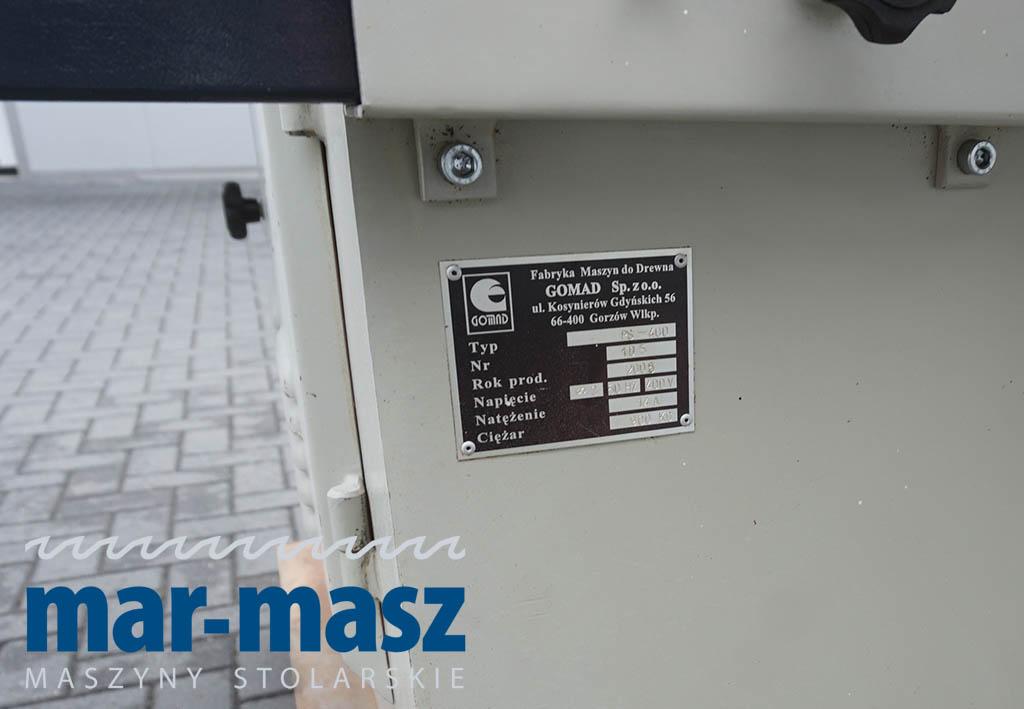 Piła tarczowa GOMAD PS 400