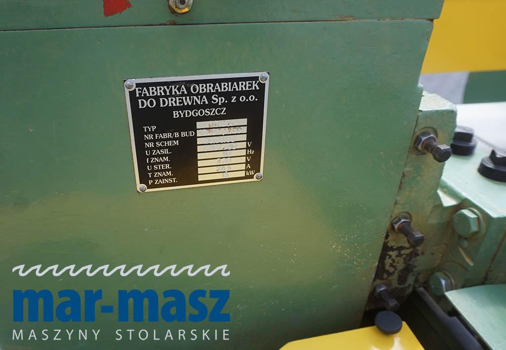 Linia do produkcji parkietu FOD BYDGOSZCZ DDCA