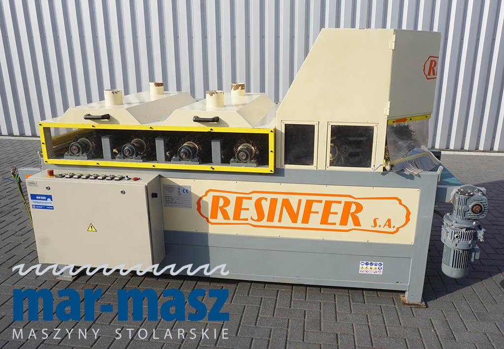 Szlifierka szczotkowa postarzarka Resinfer C-900-R turbo.OS.E