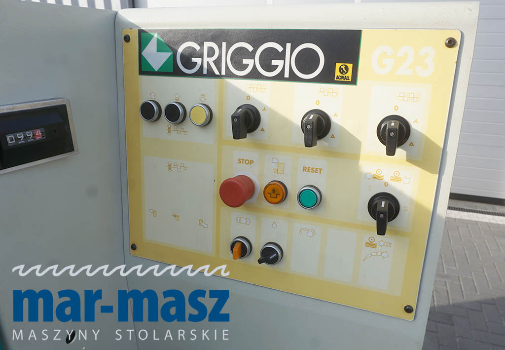 Strugarka czterostronna GRIGGIO G230
