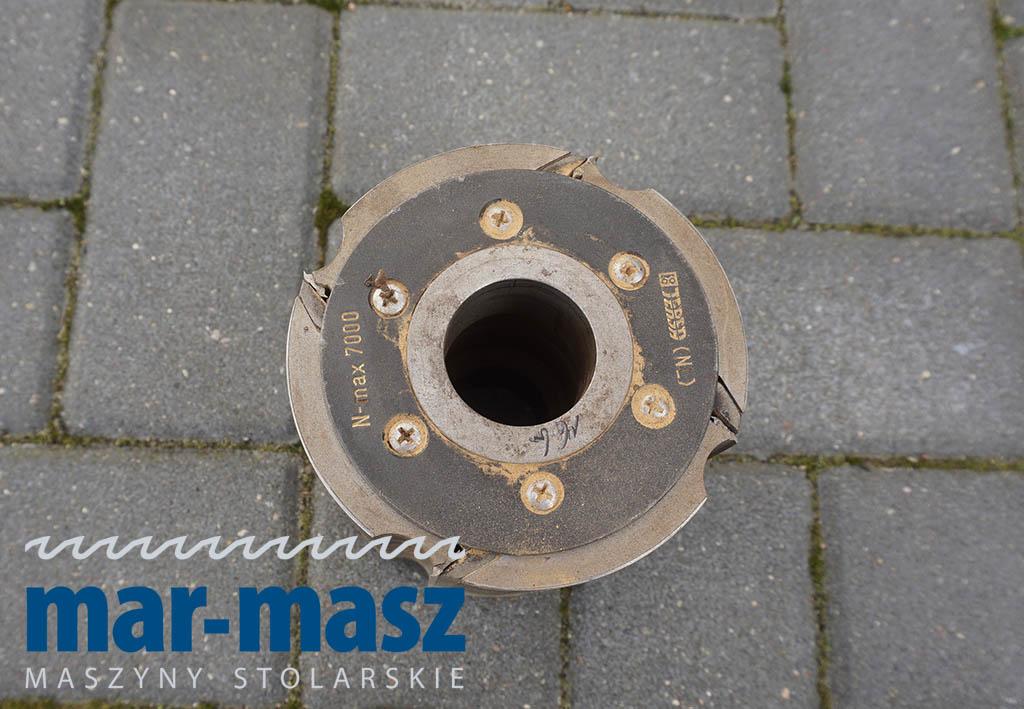Głowica strugarska czteronożowa 120×125/40