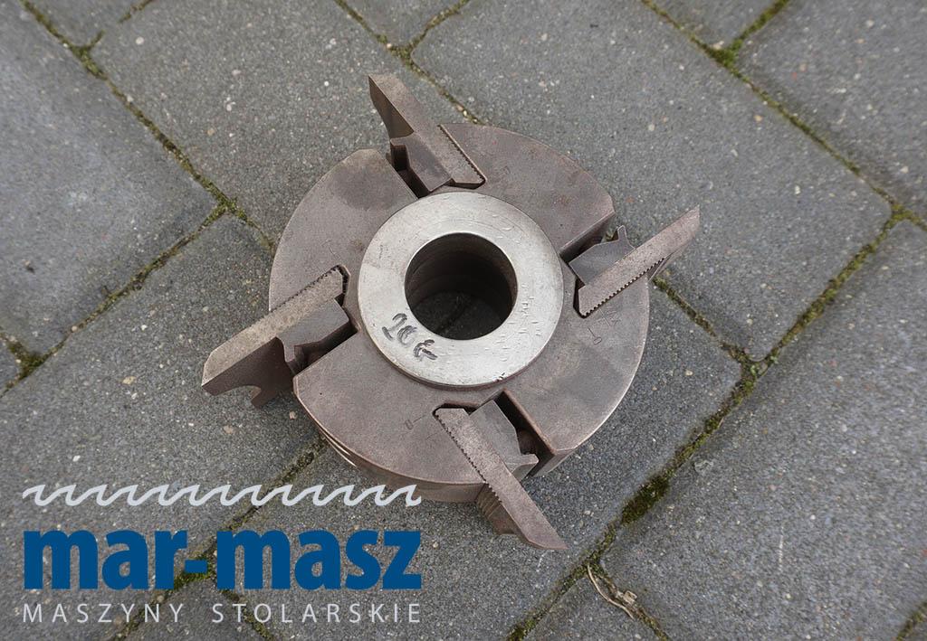 Głowica strugarska czteronożowa 60×122/40 + tuleje