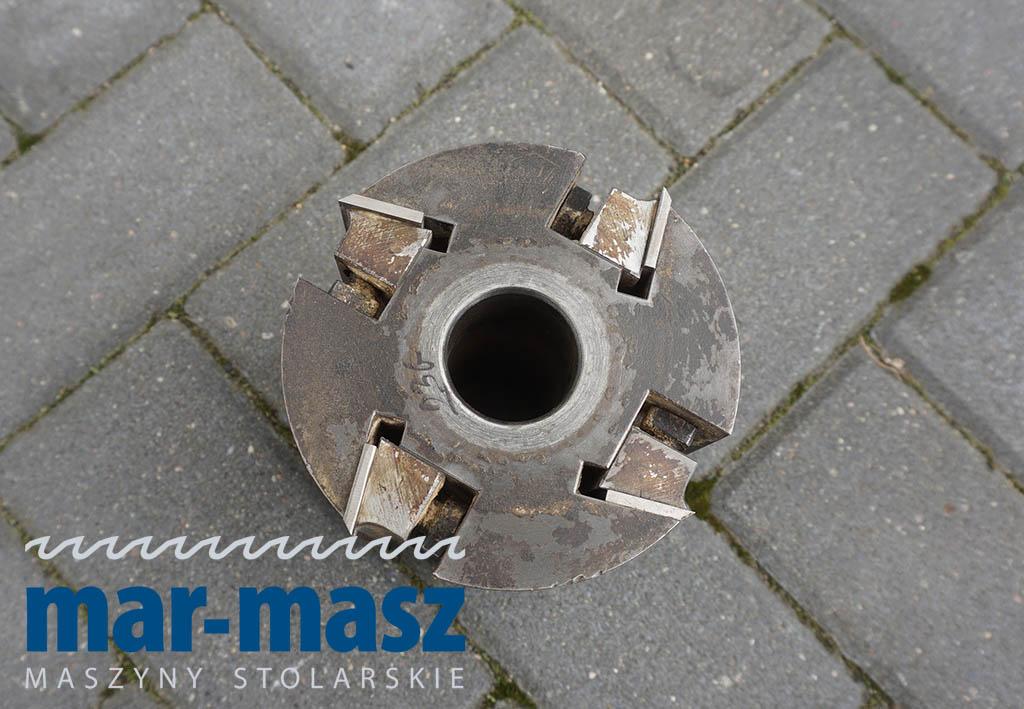 Głowica strugarska czteronożowa 130×125/35