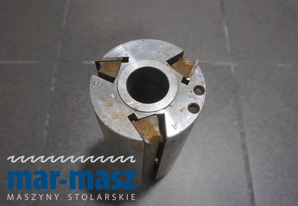 Głowica strugarska trzynożowa aluminiowa 190×100/35