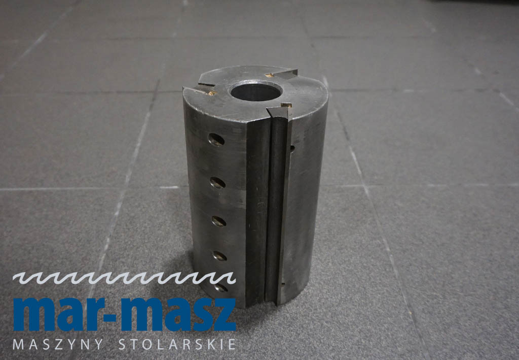 Głowica strugarska trzynożowa aluminiowa 190×120/40