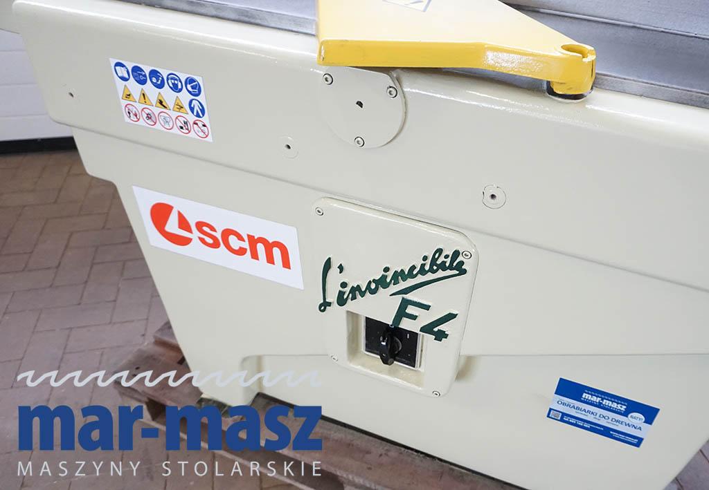 Wyrówniarka z wiertarką SCM L'invincibile F4 40