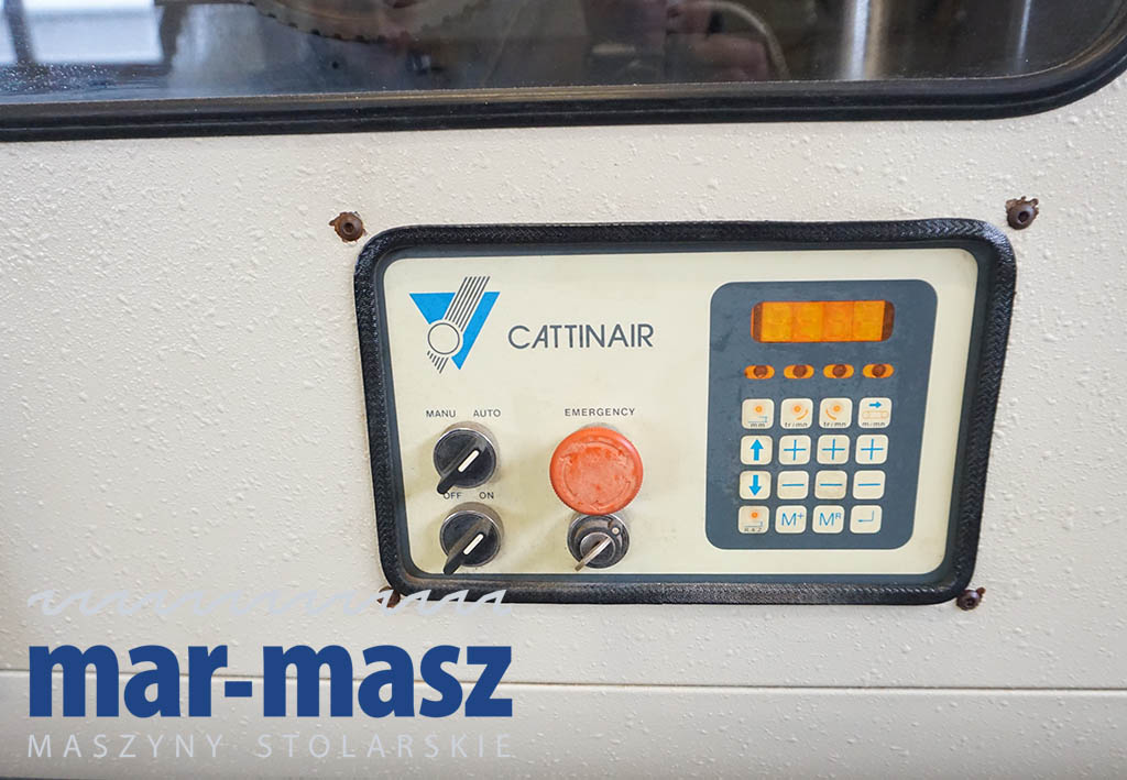 Szlifierka szczotkarka postarzarka  Cattinair EP2M-188-2