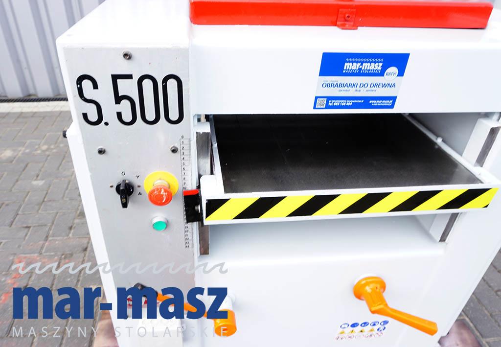 Grubościówka SICAR S.500
