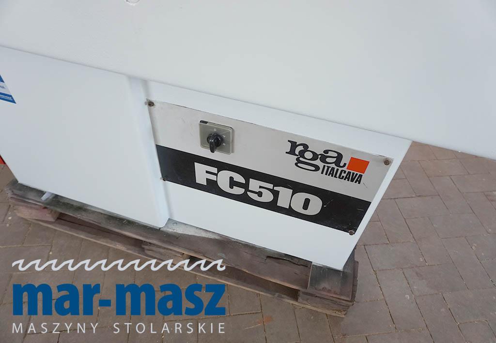Wyrówniarka Italcava RGA FC510