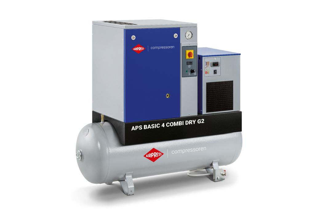 Kompresor śrubowy AIRPRESS APS 4 Combi Dry G2 Basic