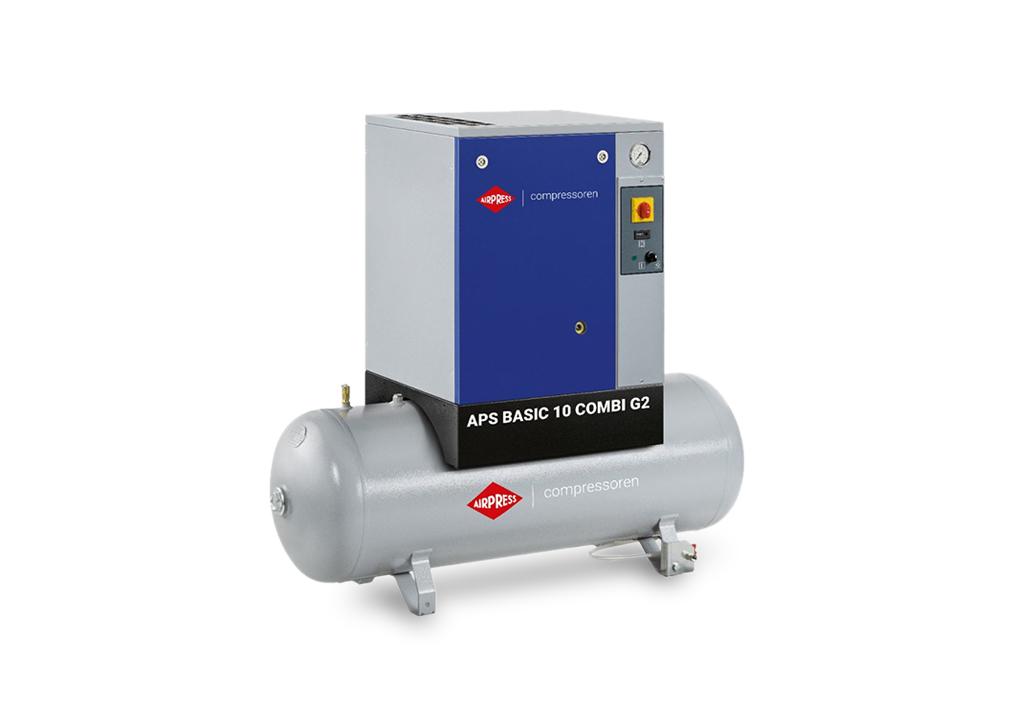 Kompresor śrubowy AIRPRESS APS 10 Basic G2 Combi