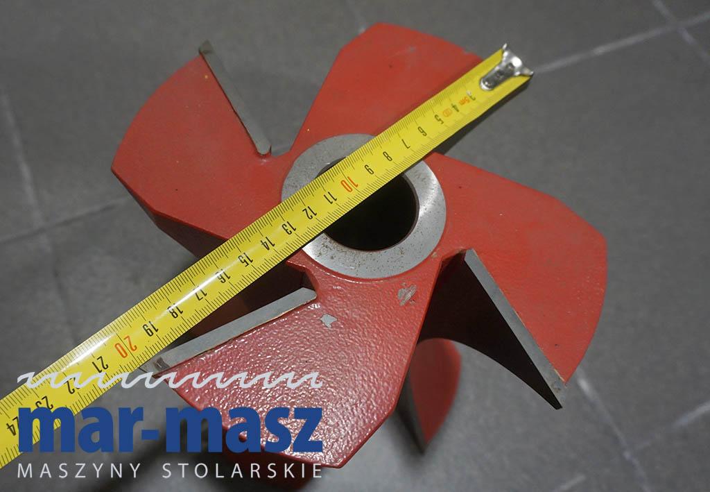 Głowica frez do imitacji deski półbal bal 180×200/40