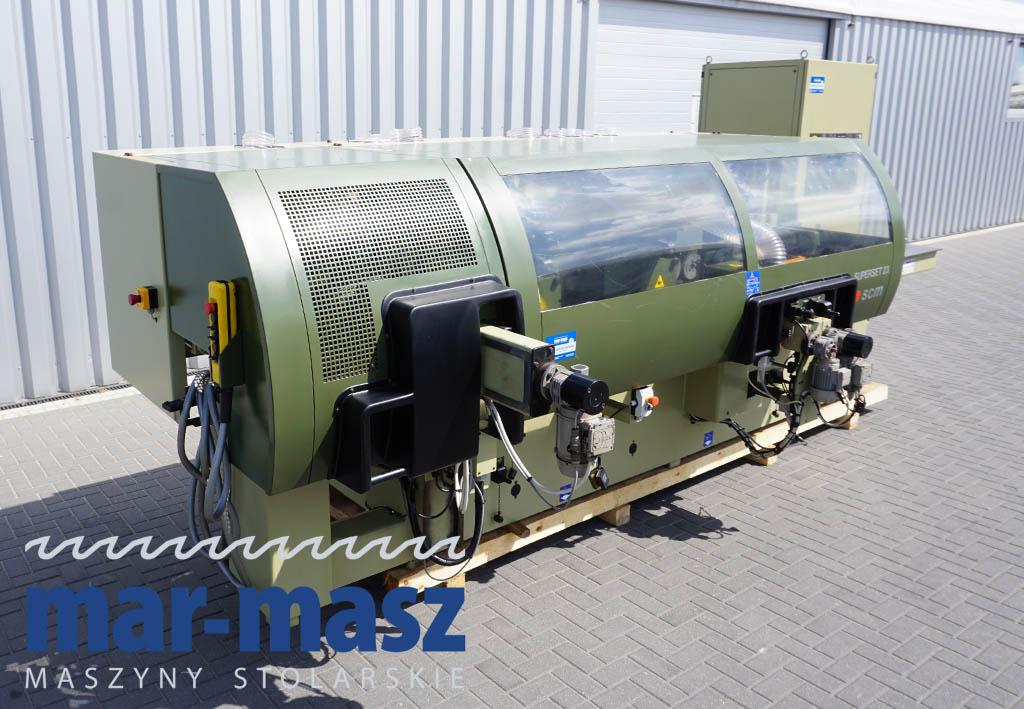Strugarka czterostronna SCM SUPERSET 23 Plus