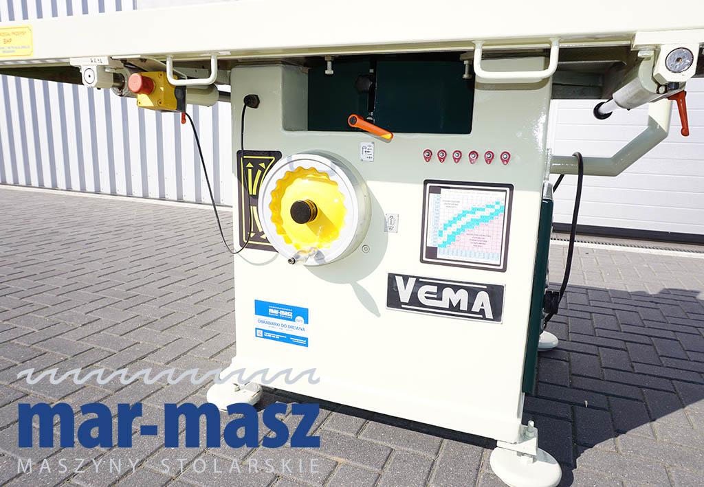 Frezarka dolnowrzecionowa Vema TFM2-4