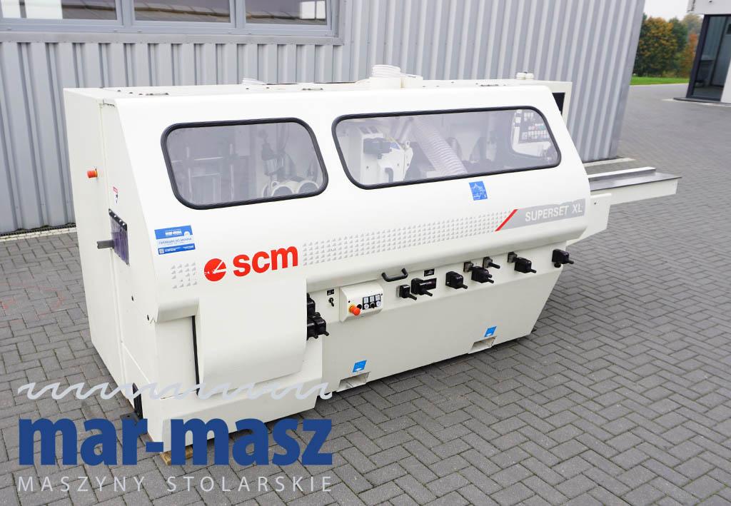 Strugarka czterostronna SCM SUPERSET XL