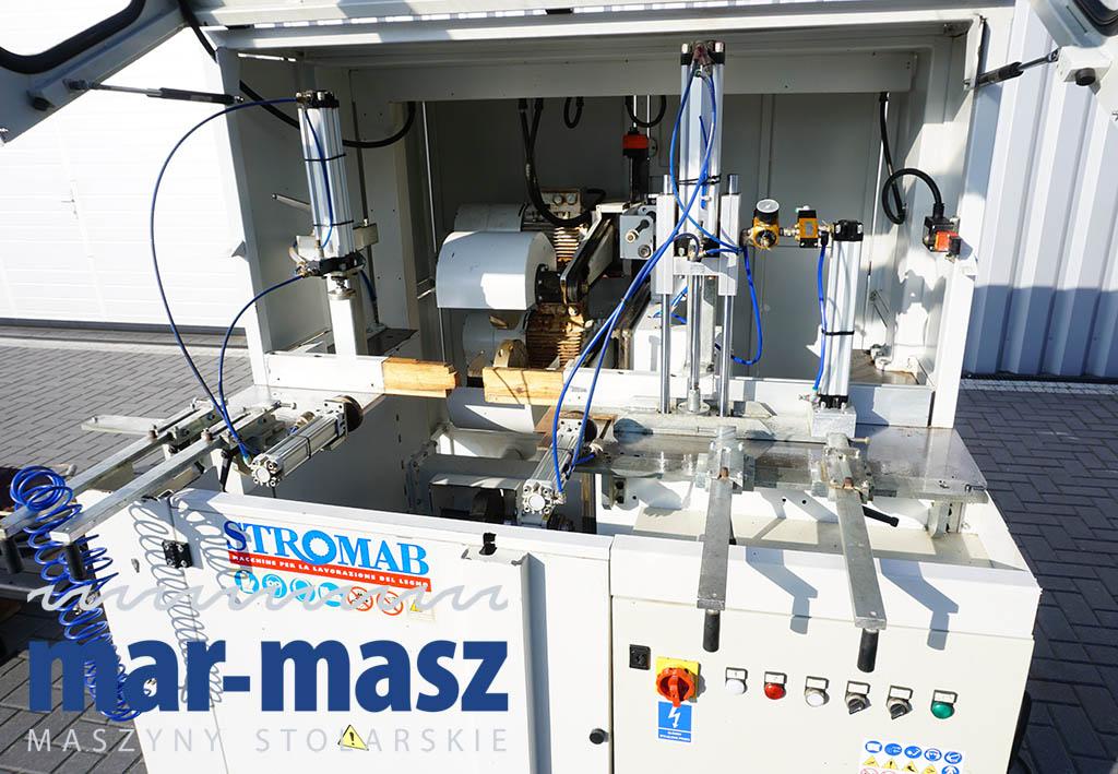 Frezarka profilowa do zacięć węgłowych STROMAB BLOX