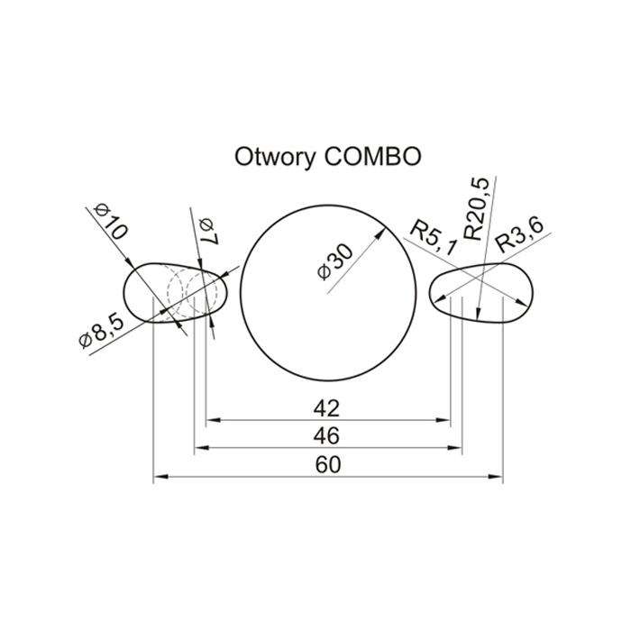 GLOBUS Piła HM 30×3,2/2,2/ 3GS-5 (L) otw.combo