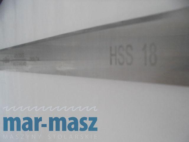GLOBUS Nóż strugarski HSS