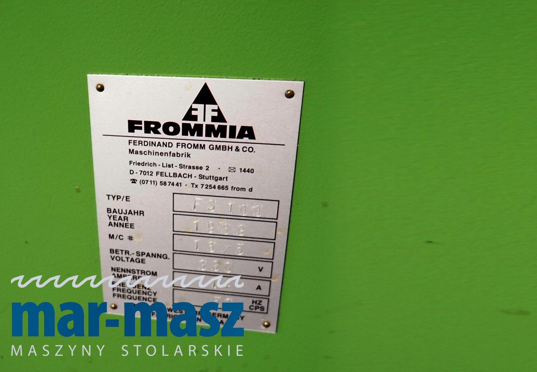 Frezarka górnowrzecionowa FROMMIA FS 100