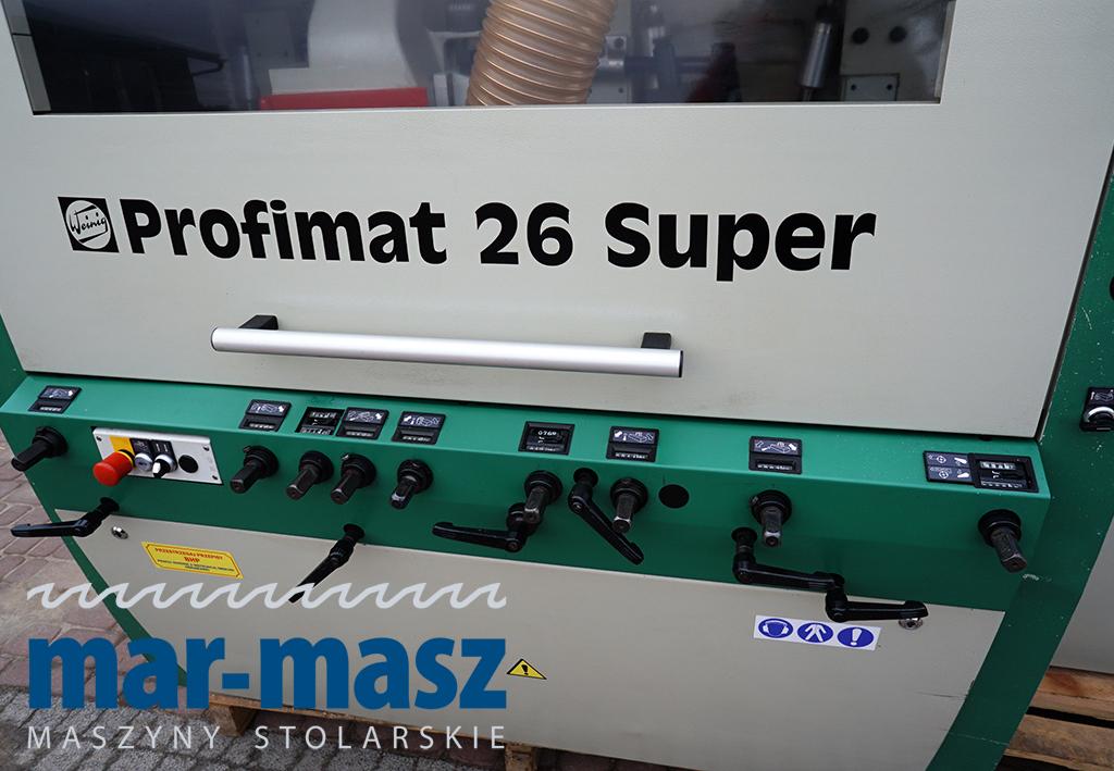 Strugarka czterostronna WEINIG Profimat 26 Super