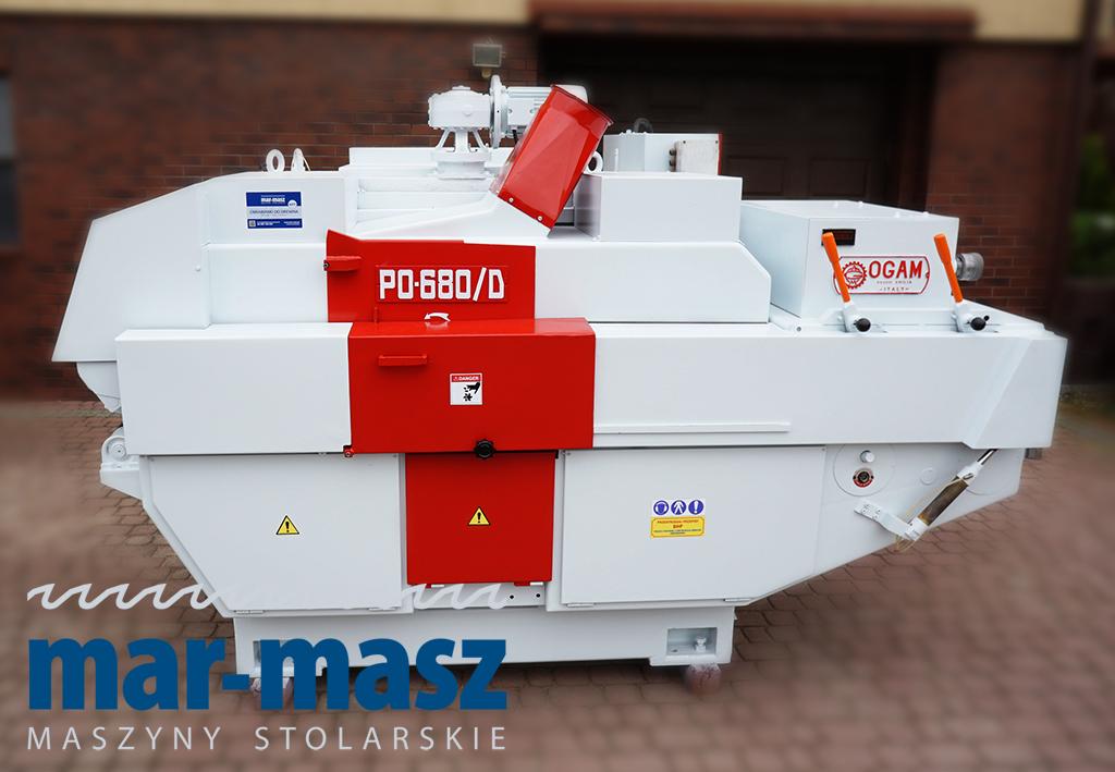 Wielopiła gąsienicowa OGAM PO-680 D