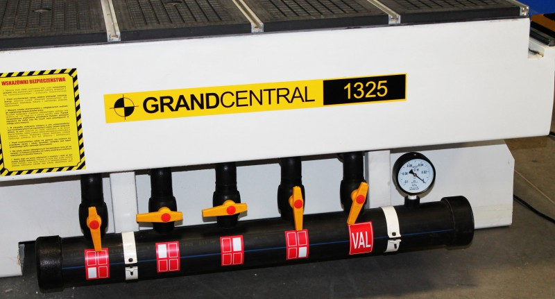 Frezarka ploter CNC Grand Central 1325