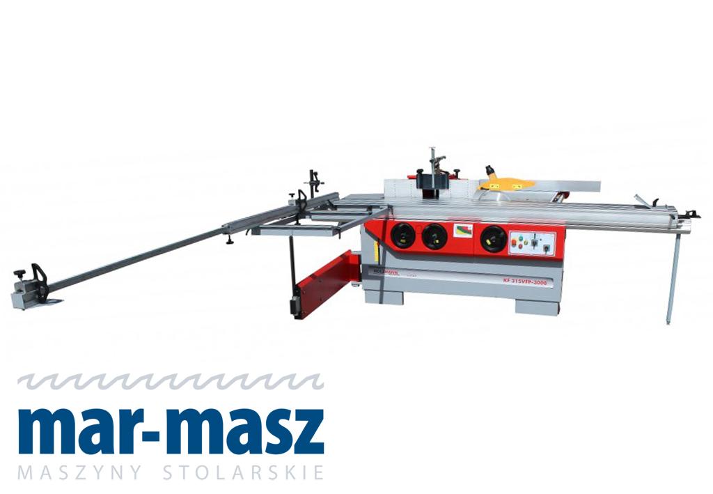 Pilarko-frezarka Holzmann KF 315VFP-3000 Stomana