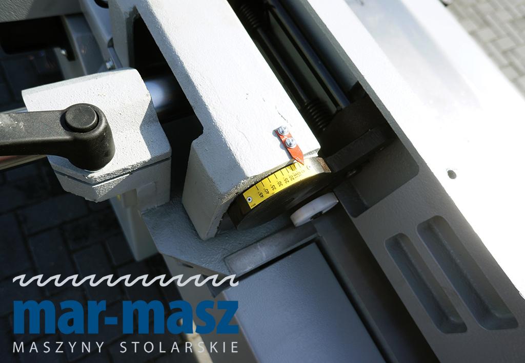 Wyrówniarka STOMANA DMA 53L z wałem spiralnym