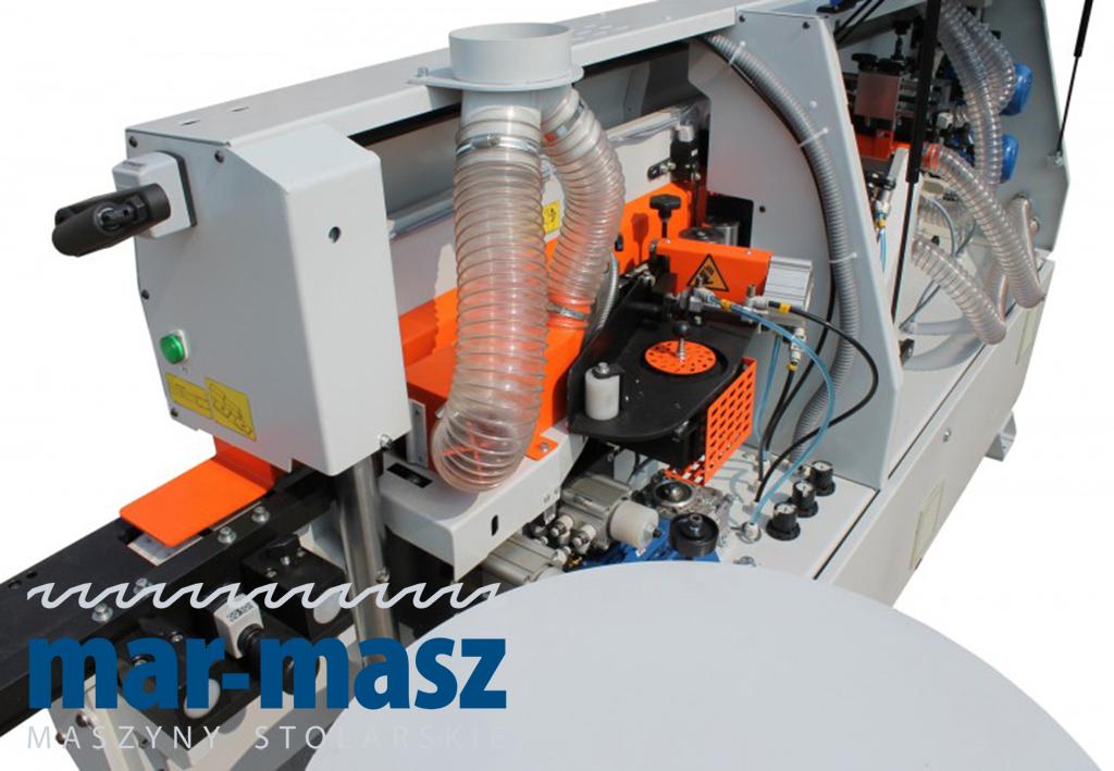 Okleiniarka kompaktowa z wstępnym frezowaniem KZM 6 TF